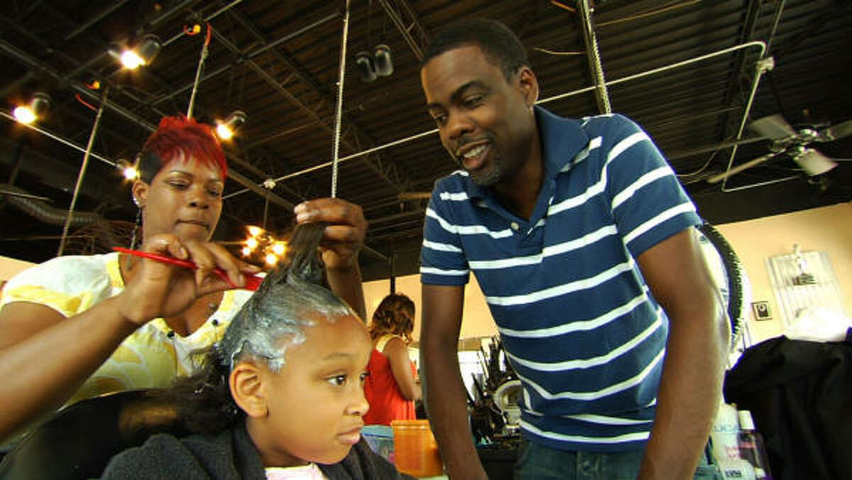 Chris Rock has made a documentary (read the review here) about what African American women go through for their hair. But it's not just them that get some assistance. See if you can figure out who's wearing a piece or who has good hair?