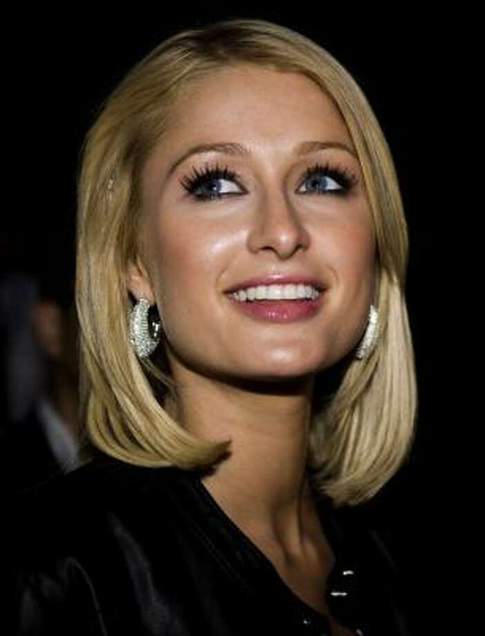 Determine for yourself: This is Paris Hilton on Aug. 5, 2008... Photo: TARIQ MIKKEL KHAN, AP