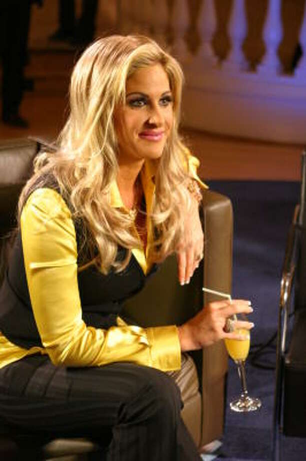Kim Zolciak of Bravo's The Real Housewives of Atlanta not only is open about wearing wigs, but is starting her own wig line. Photo: John Crooms, © Bravo