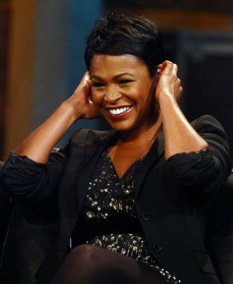 Nia Long has gone back to her natural roots, but admits to wearing pieces in the past. Photo: Astrid Stawiarz, Getty Images