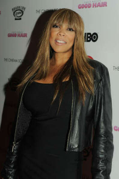 Talk show host Wendy Williams not only loves her wigs, but loves to ask her guests if all that's on