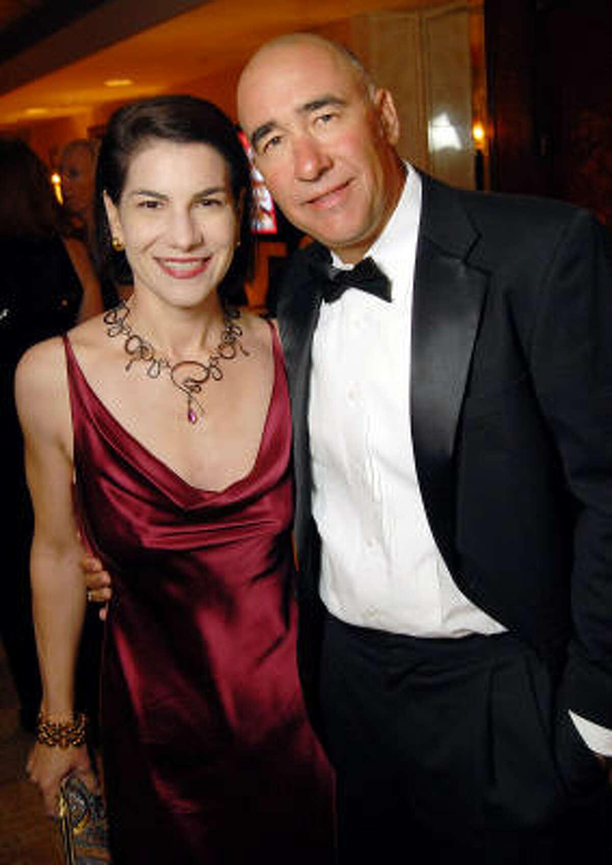 Sara Sant'Ambrogio and Brian Hoffner