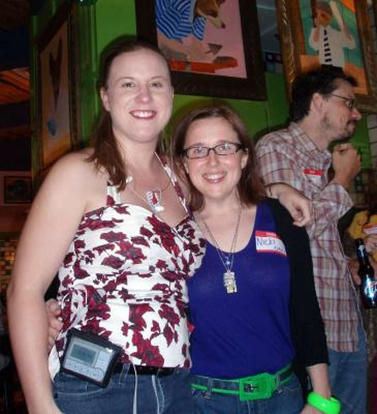 Andrea Kersten (ASK-ME) and Nicki Britton, Babysteps blogger.