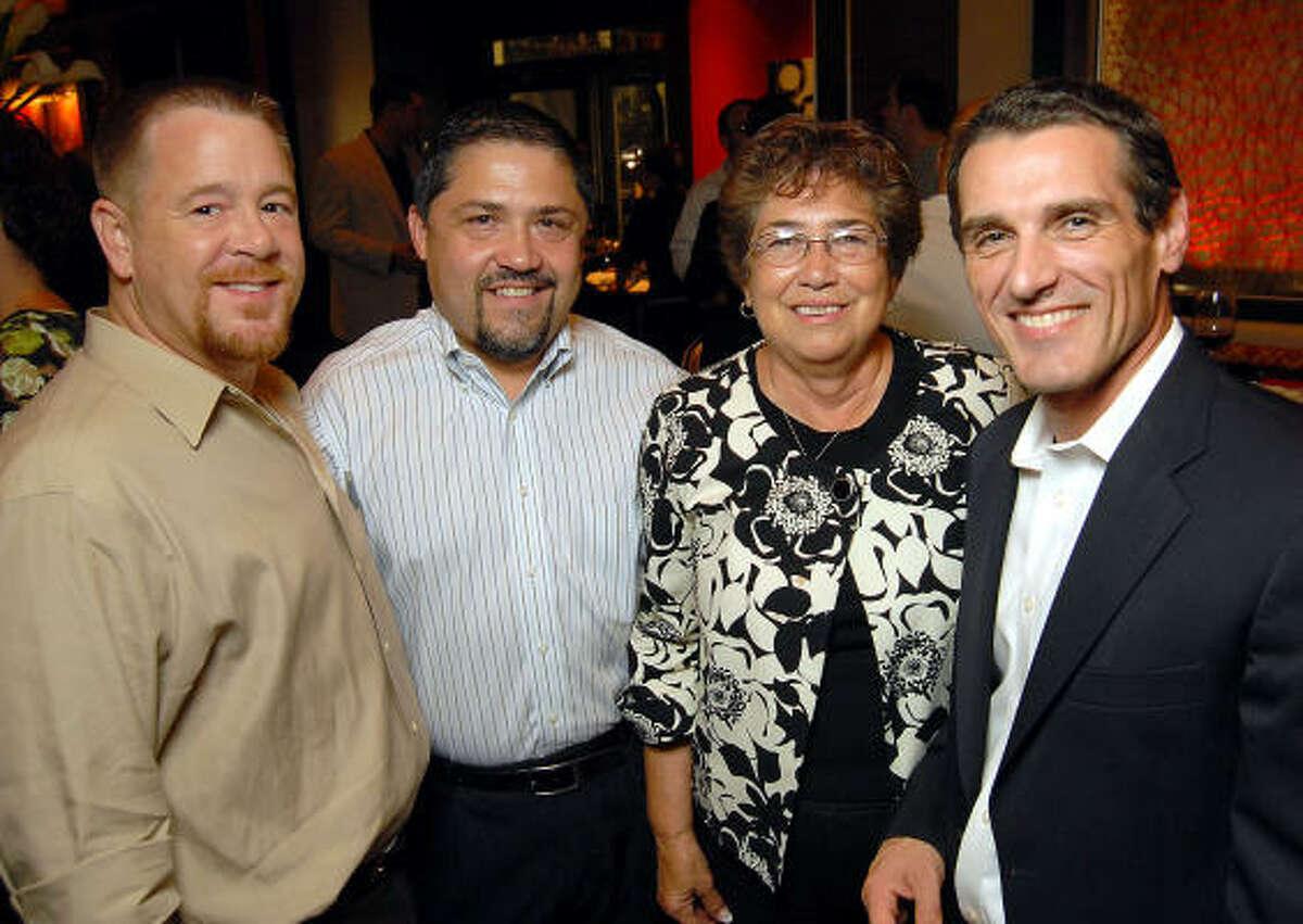 Shelby Kibodeaux, Bruce Padilla, Mary Padilla and Hans Schmitt