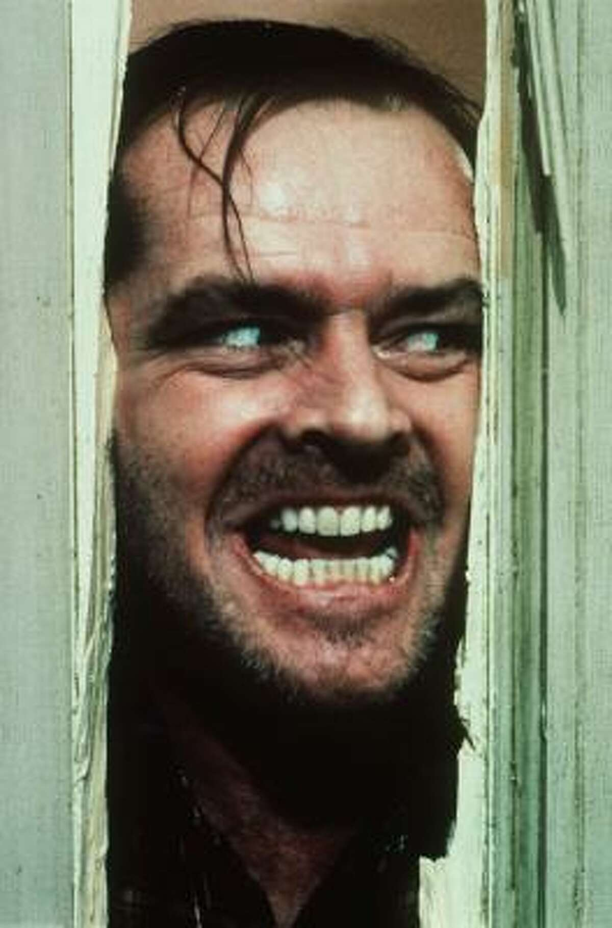 The Shining with Jack Nicholson is one of Stanley Kubrick's finest. Redrum...redrum.