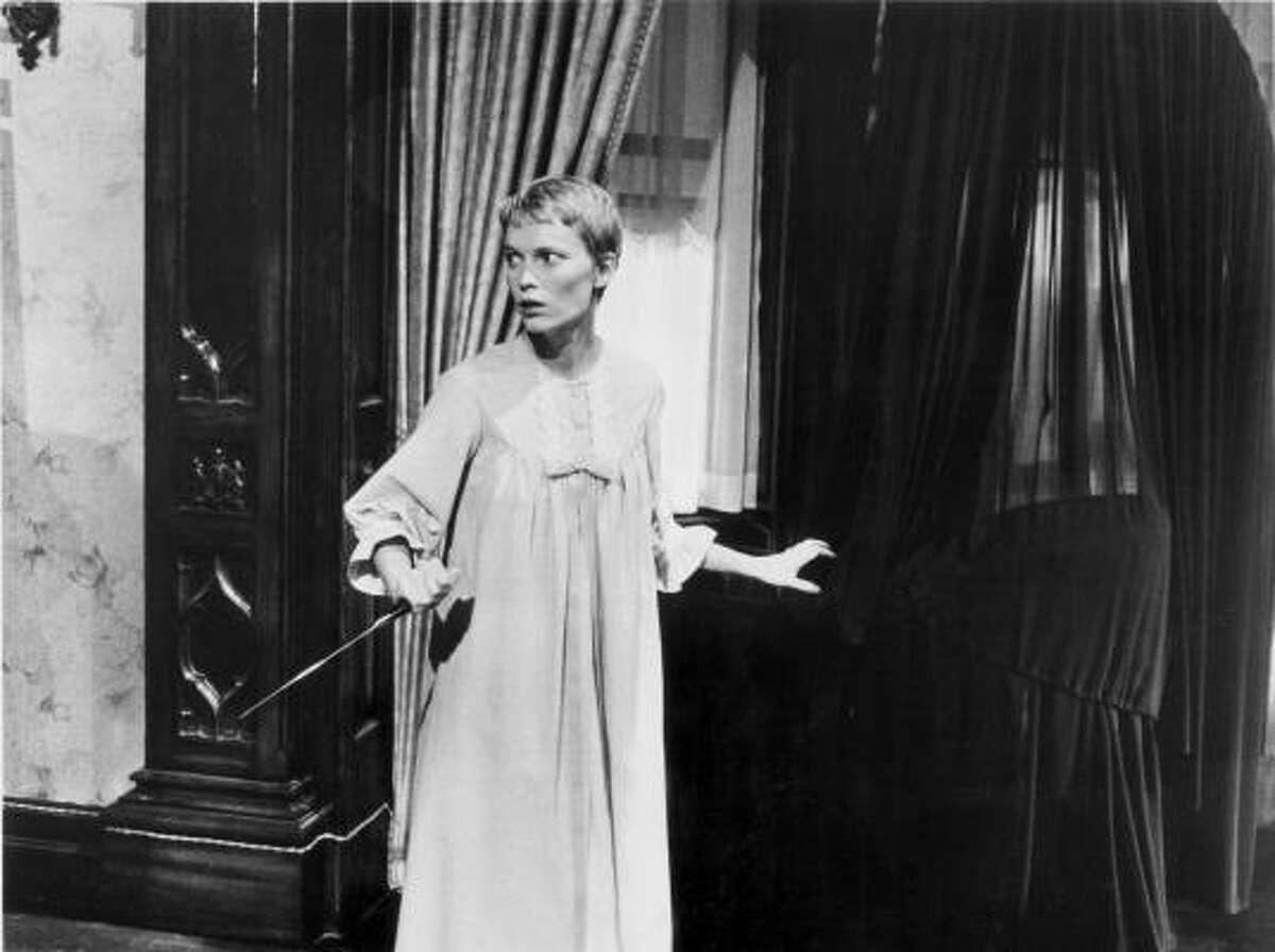 Rosemary's Baby made many pregnant women paranoid.