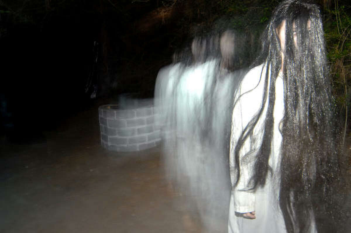 Check out the best places to get spooked out this year: The Haunted Trails, 11500 Antoine Dr.