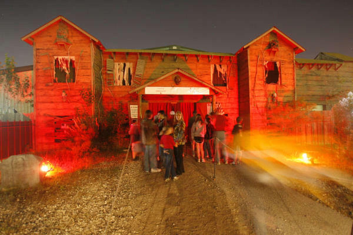 Scream World, 2225 N. Sam Houston Pkwy., has five attractions.