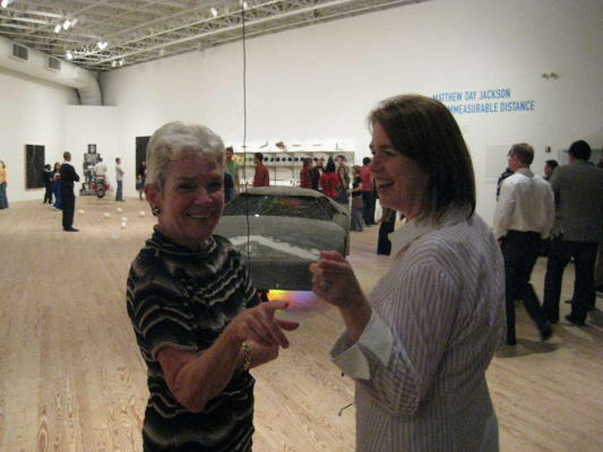 Sissy Kempner and Kerry Inman