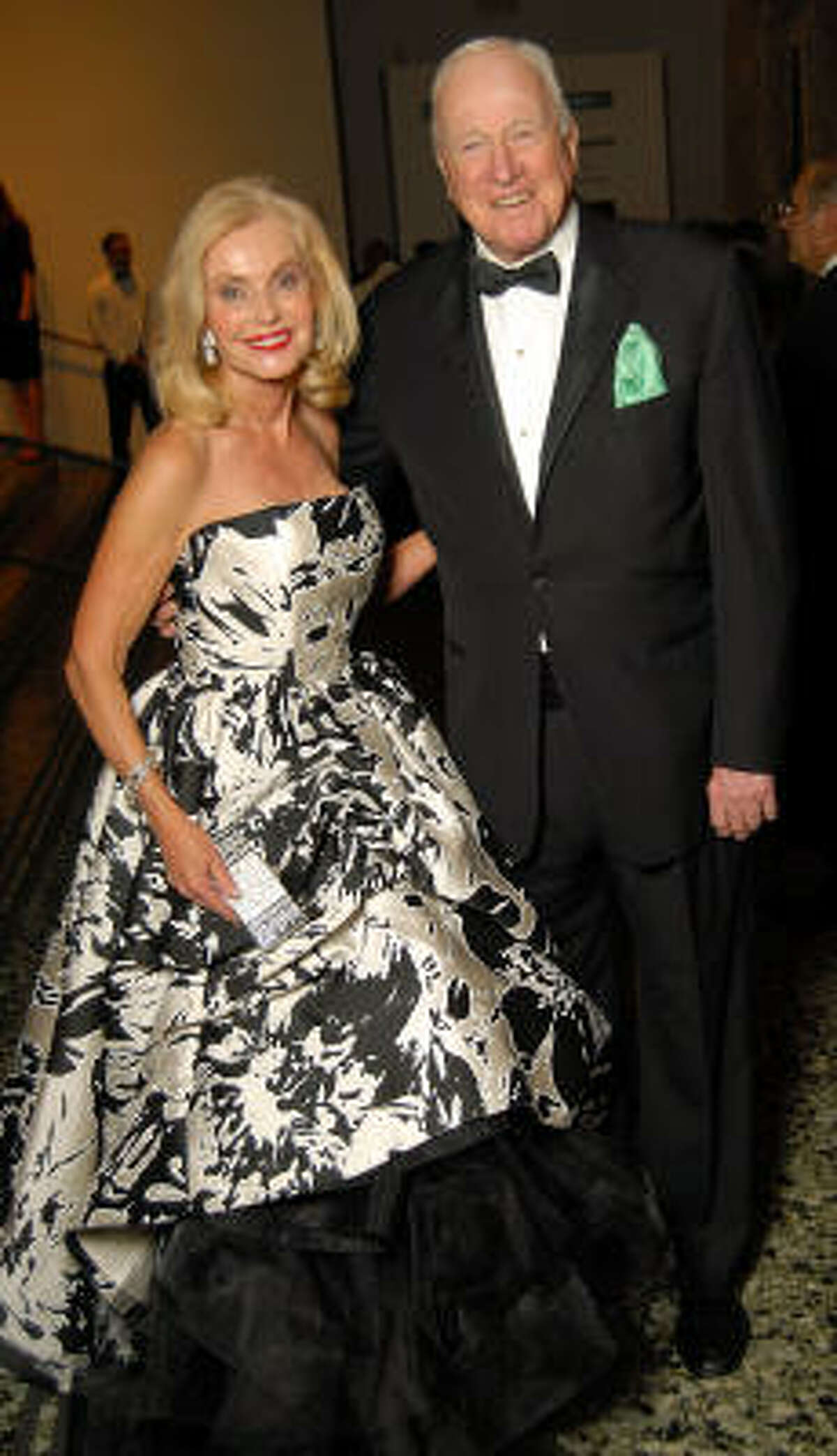 Pat and Dan Breen at the Museum of Fine Arts gala Friday, Oct. 09.