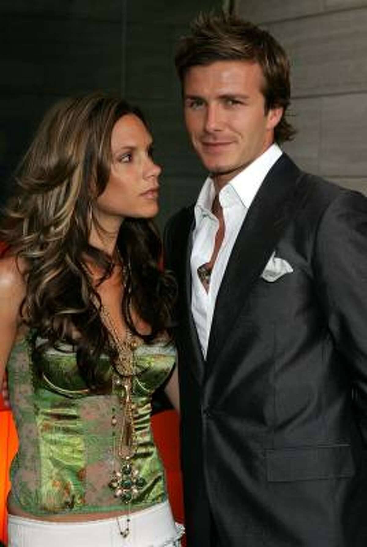 David Beckham married the Spice Girls' Posh, Victoria Adams, in July 1999.