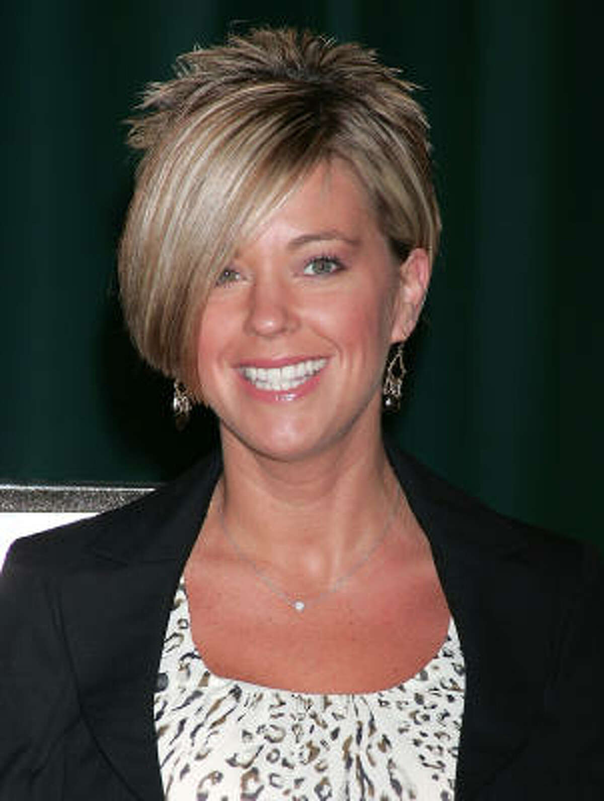 Kate Gosselin because nothing will ever be spotless enough for this self-described clean-freak.