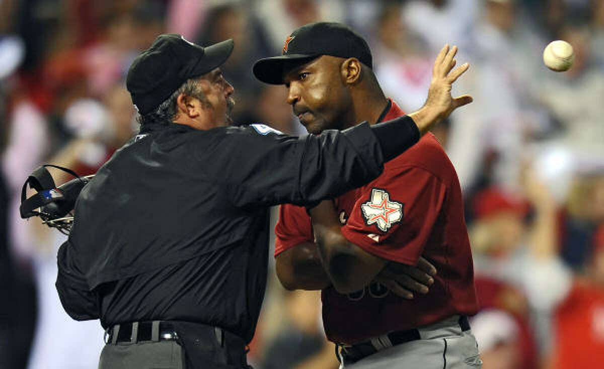 Dave Clark Age: 47 Who he is: Astros' interim manager. Quick fact: Skippered club to 4-9 record after Cecil Cooper's dismissal.