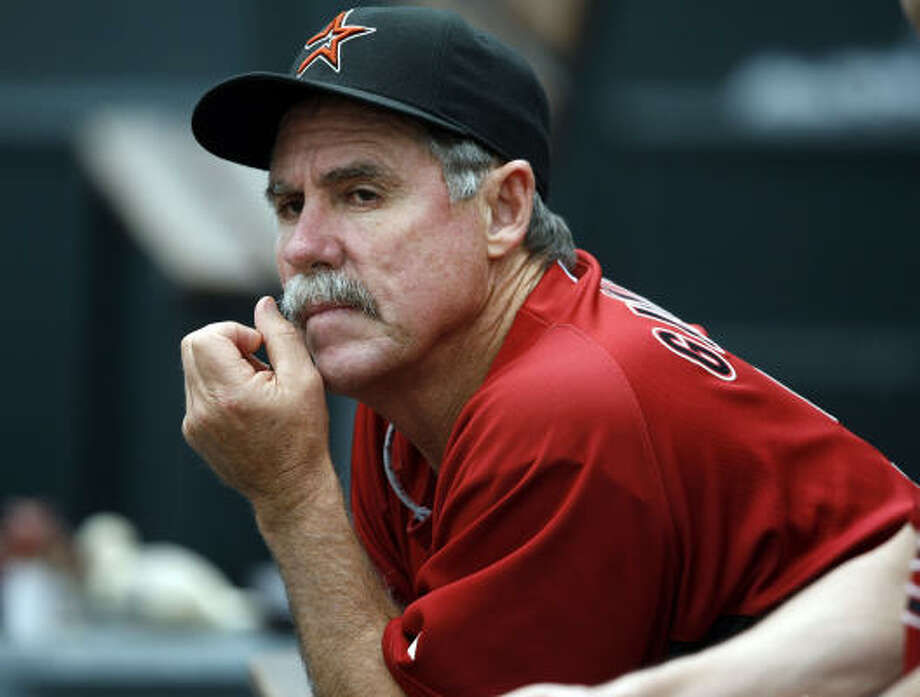"Phil GarnerAge:60  Who he is:  Former Astros manager.  Quick fact:  Now out of baseball, ""Scrap Iron"" led Astros to '05 World Series. Photo: David Zalubowski, AP"