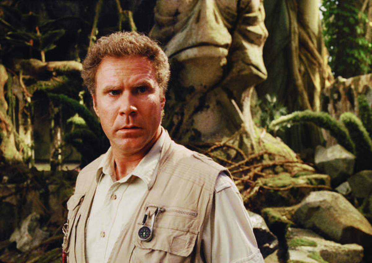 Land of the Lost starring Will Ferrell, is a movie remake of the classic television show.