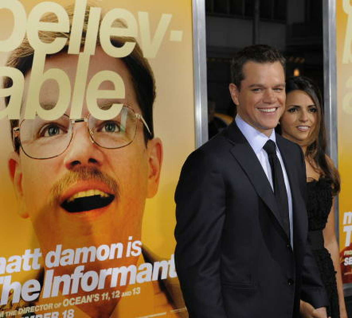 The Informant! , $xx million Corporate intrigue is played for laughs.