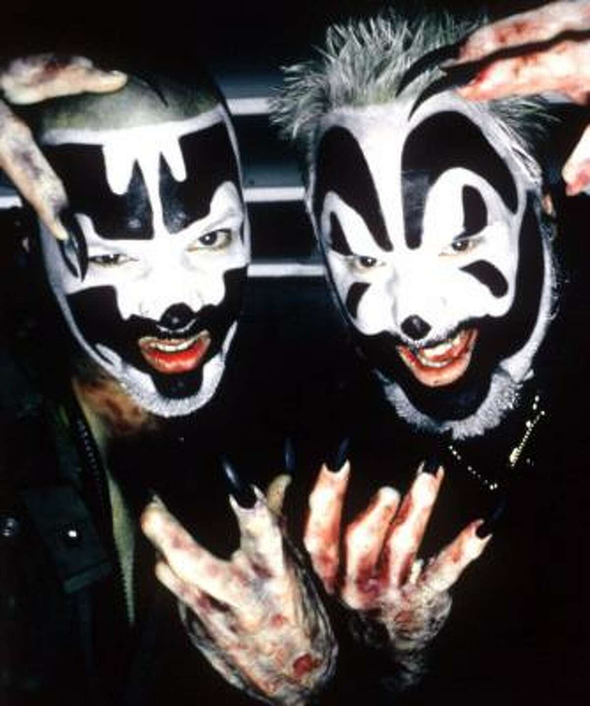 Makeup is the first step to becoming a true Insane Clown Posse juggalo.