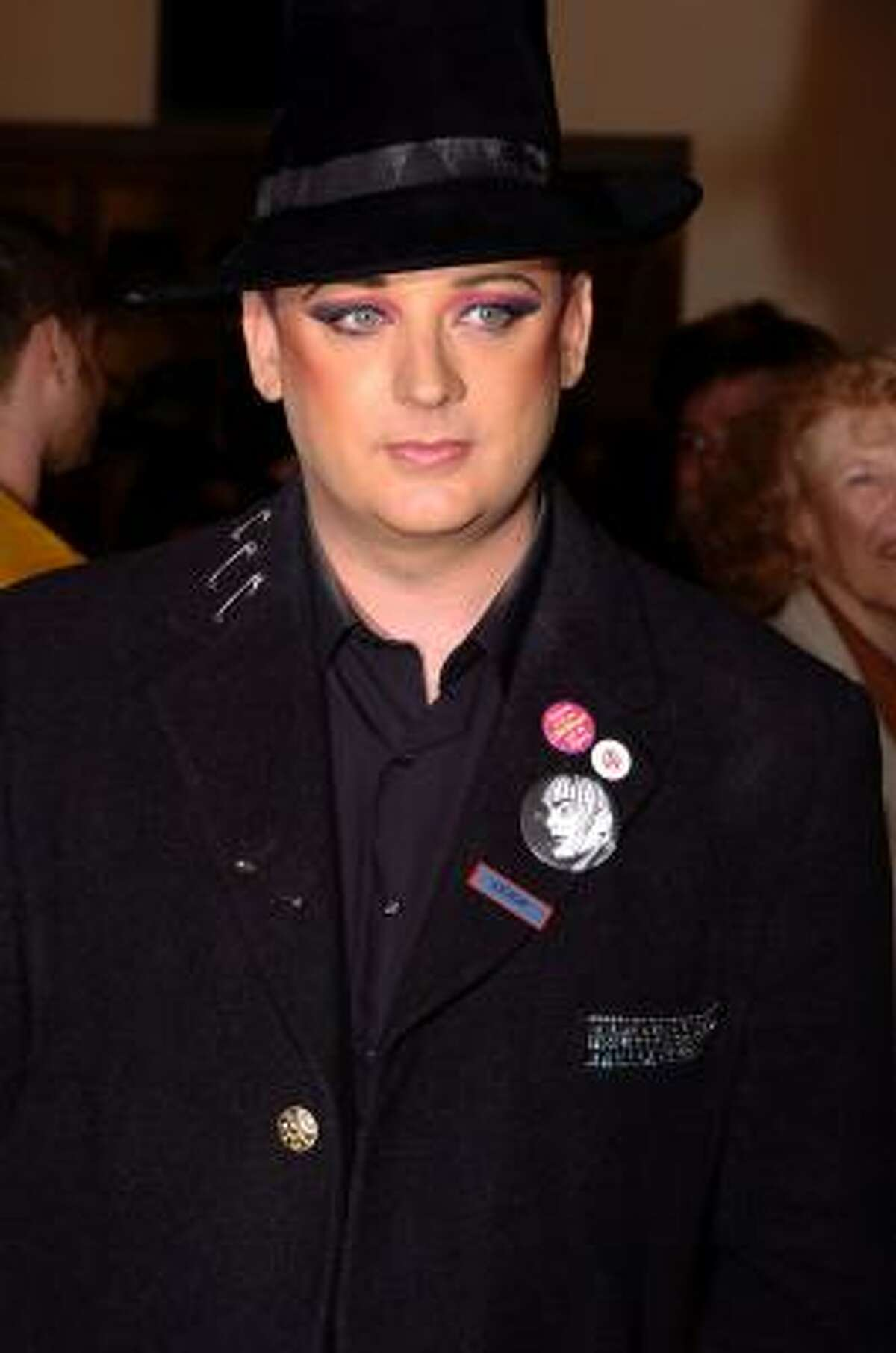 Boy George claims makeup gives him magic.