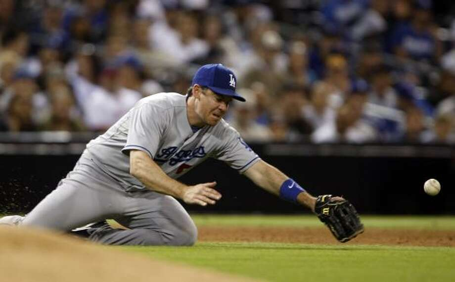 Mark Loretta, Dodgers Then: Solid two seasons (2007-08) as a utility infielder after playing 22 games with the team in 2000. Now: Rarely starts, but has made 107 appearances, mostly as a pinch-hitter. Photo: Lenny Ignelzi, AP