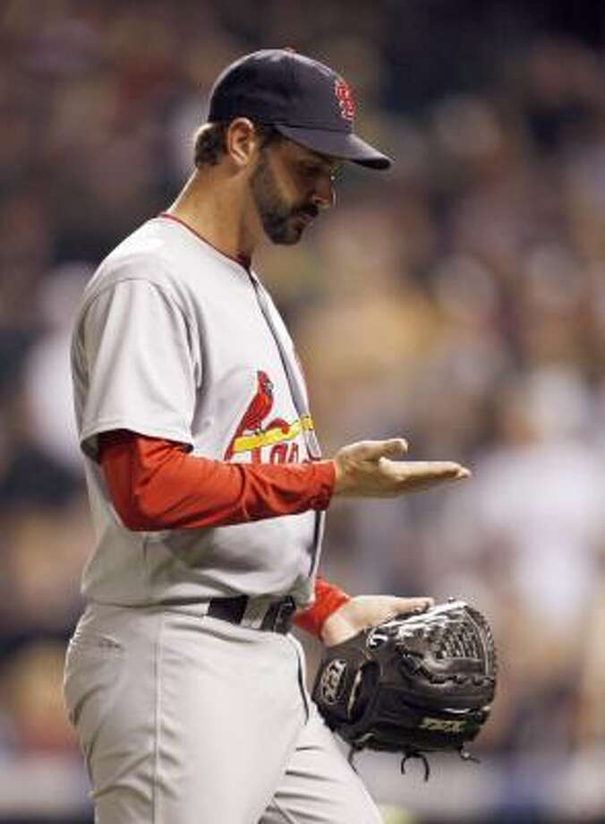 Trever Miller, CardinalsThen: All-purpose reliever in his first stint (1998-99) and more of a lefty specialist in his second (2006-07). Now: Coming off a fantastic year (2.06 ERA, 31 hits, 10 walks in 43.2 innings) as a specialist for the Cardinals. Photo: Jack Dempsey, AP