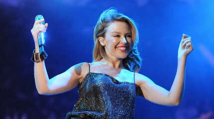 Kylie Minogue    Sex therapist:   It takes a really big man to love a really big scar