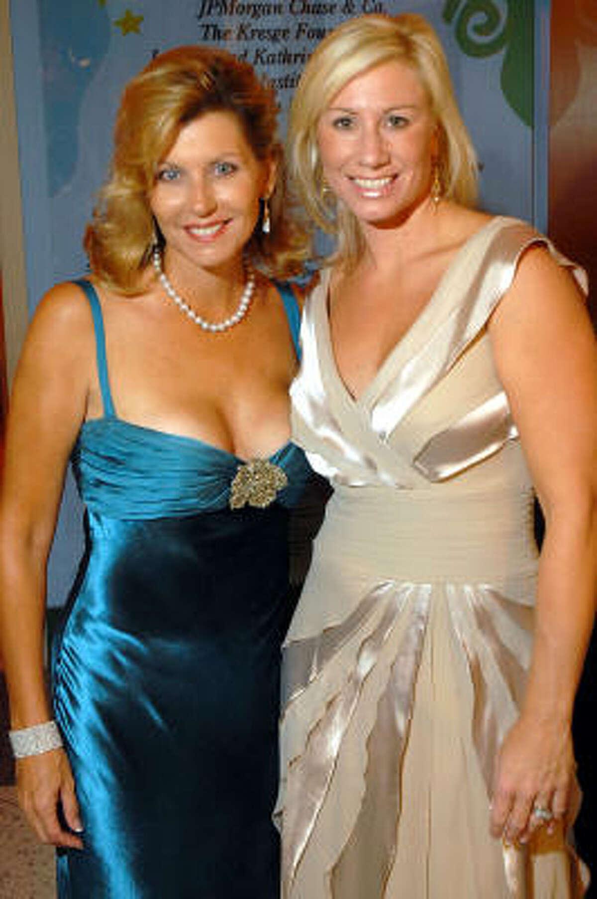 Susan Plank and Cathy Finn