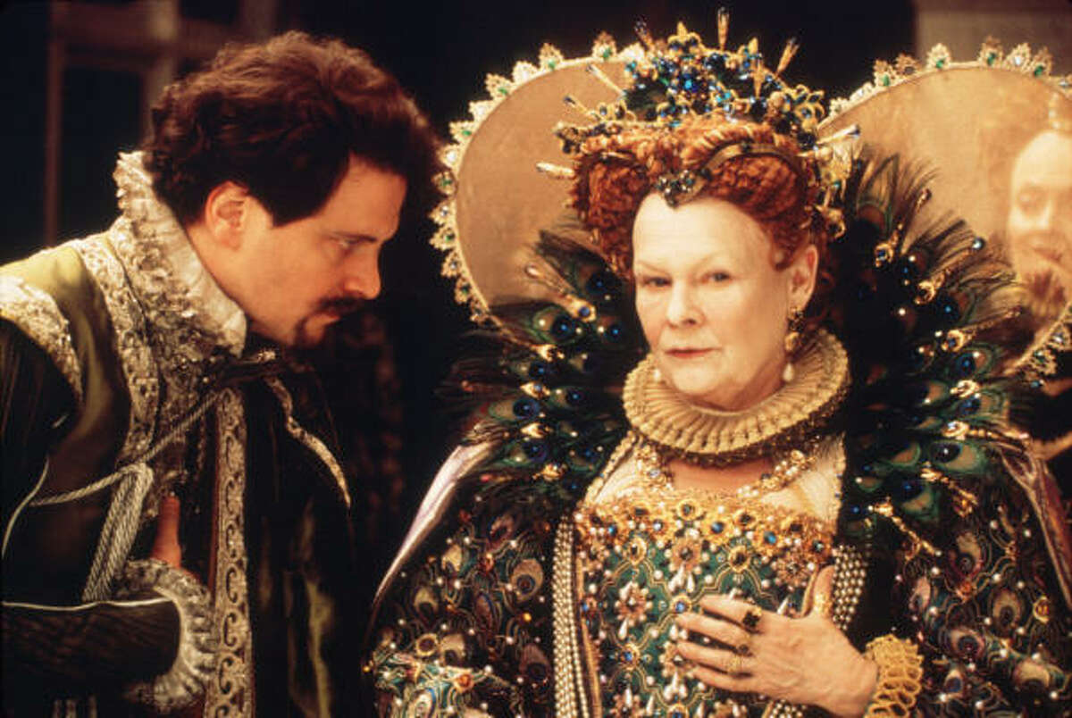 Queen Elizabeth I, played by Judi Dench Shakespeare in Love, had many male suitors.