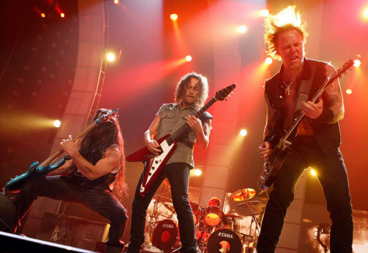 METALLICA : Stance: Against illegal downloads It has been almost 10 years since the band broke ground and sued Napster for piracy. Check out what other famous music-makers voiced opinions about illegal music sharing sites.