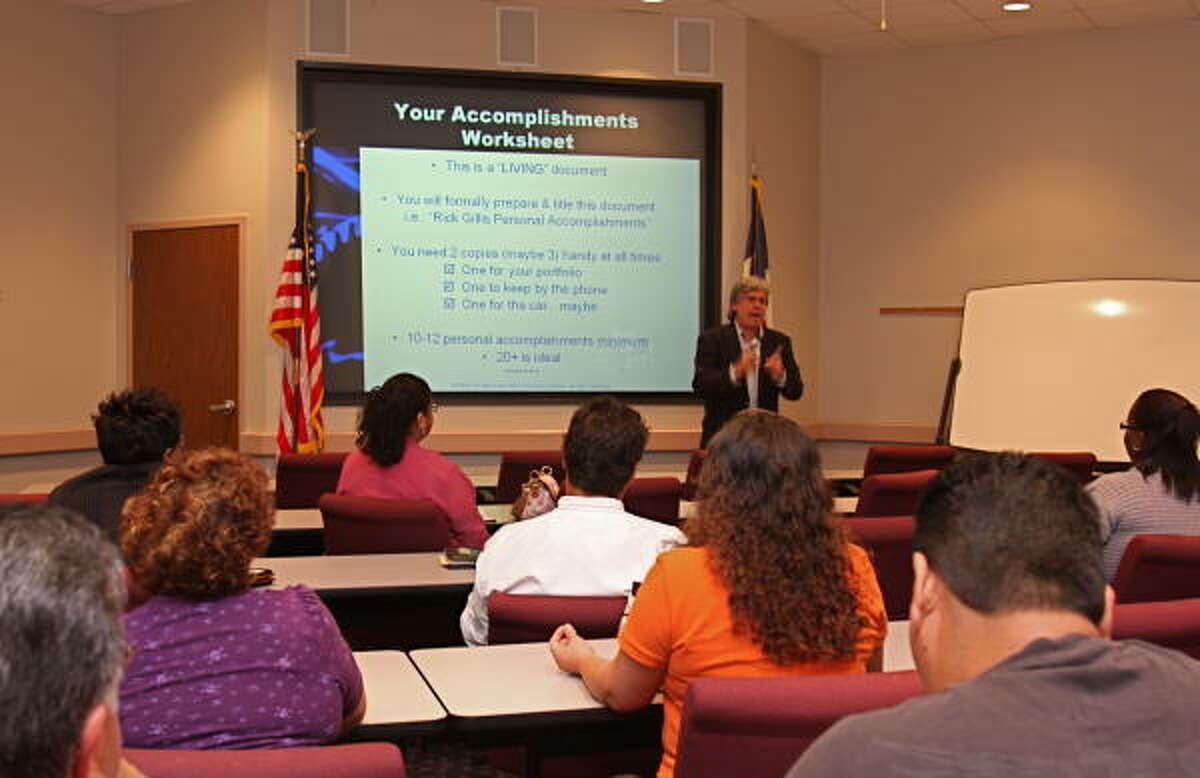 Rick Gillis, job search expert from Houston, teaches job seekers helpful tips that will catch the eye of recruiters.