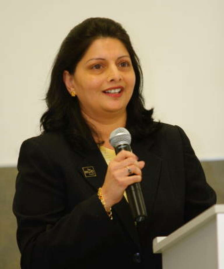 Houston Community College System Trustee: District VII - Neeta Sane Photo: Suzanne Rehak, For The Chronicle