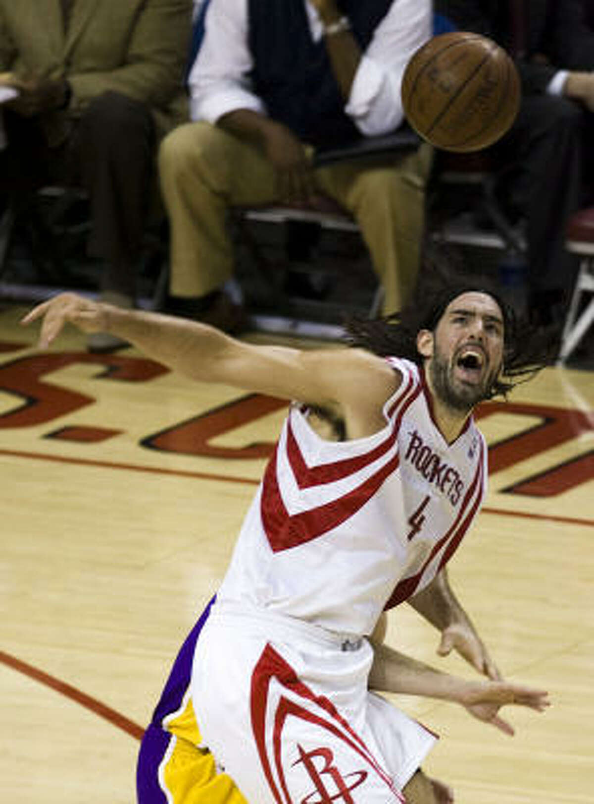 Luis Scola, forward/center Scola averaged career-highs of 12.7 points and 8.8 rebounds a year ago.