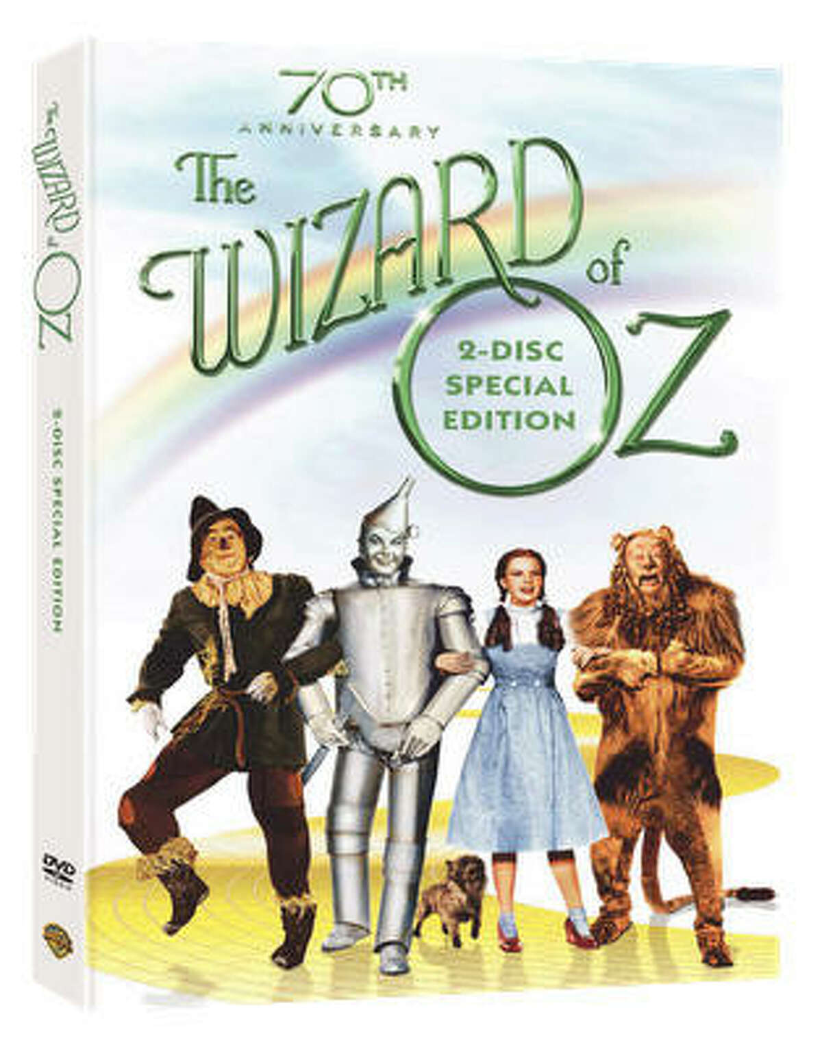 """The Wizard of Oz (70th Anniversary Two-Disc Special Edition) will cost you $24.98. The Wizard of Oz (70th Anniversary Ultimate Collector's Edition) will run you $69.99 and includes: """"16 Hours of Enhanced Content, Four of Which Are Brand New, Including New Documentaries, Featurettes, Digital Copy on Disc and Rare and highly collectible memorabilia. Premiums include: 52-pg. Production History Book, Behind the Curtain; Exclusive 70th Anniversary Watch with GENUINE CRYSTALS; Reproduction of the original film budget; 1939 Campaign Book Exclusive to Amazon are a set of 4 collectible poster cards featuring the characters of Wizard of Oz."""""""