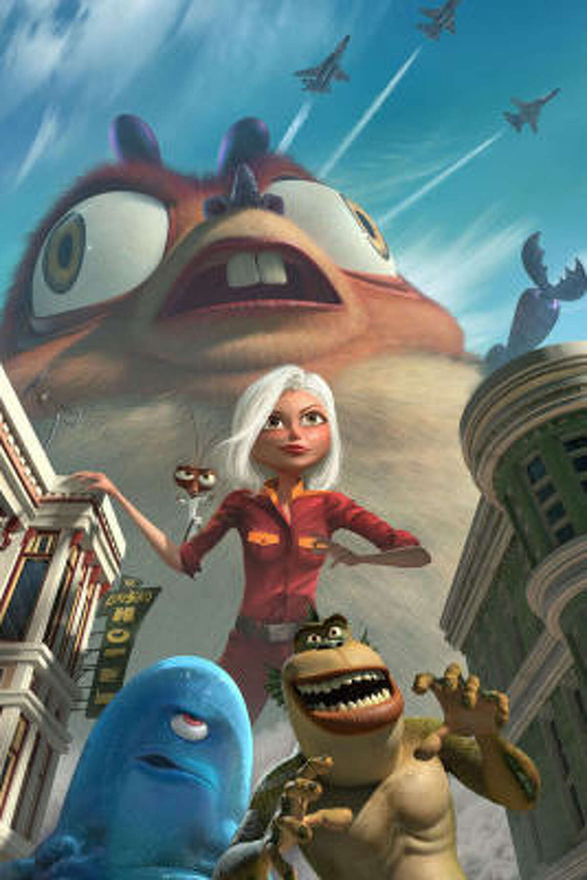 This week in DVD releases: Monsters vs. Aliens