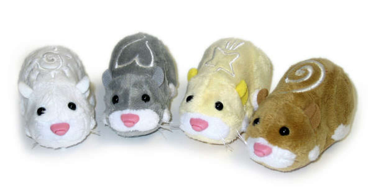 Zhu Zhu Pets Hamsters Parental warning: These toys are not to be put in the mouse trap.