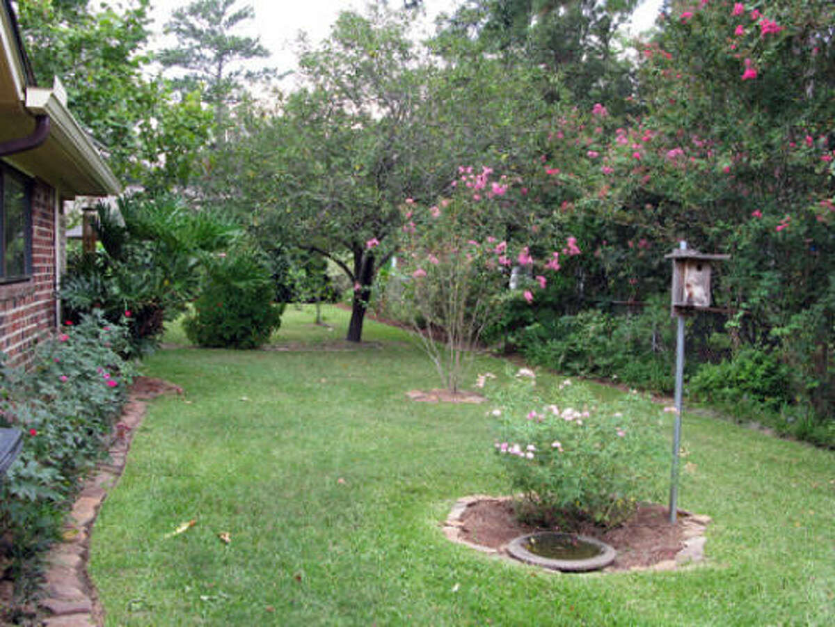 NO BORDERS: Bricks, plants, landscape timbers -- use something to keep the grass at bay.