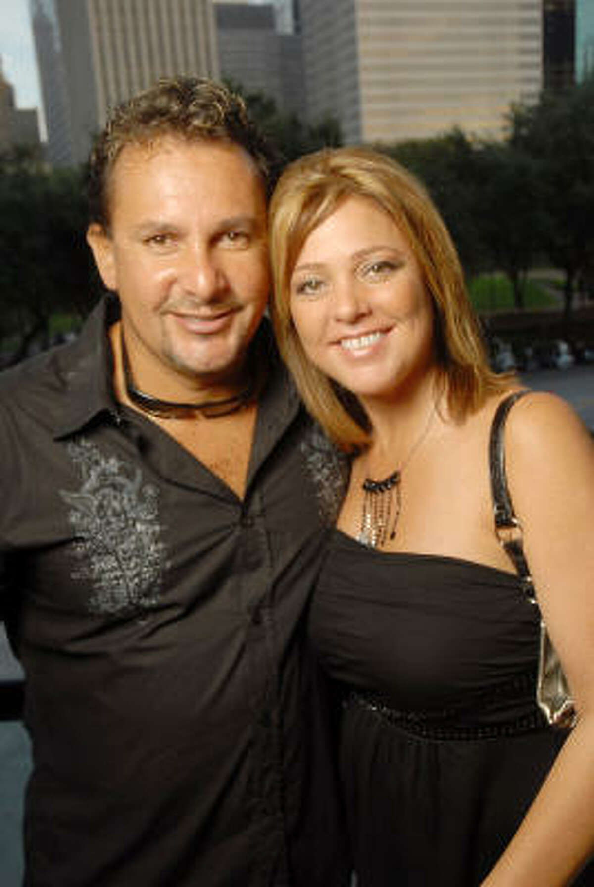 Al Rubio and Tammy Plank