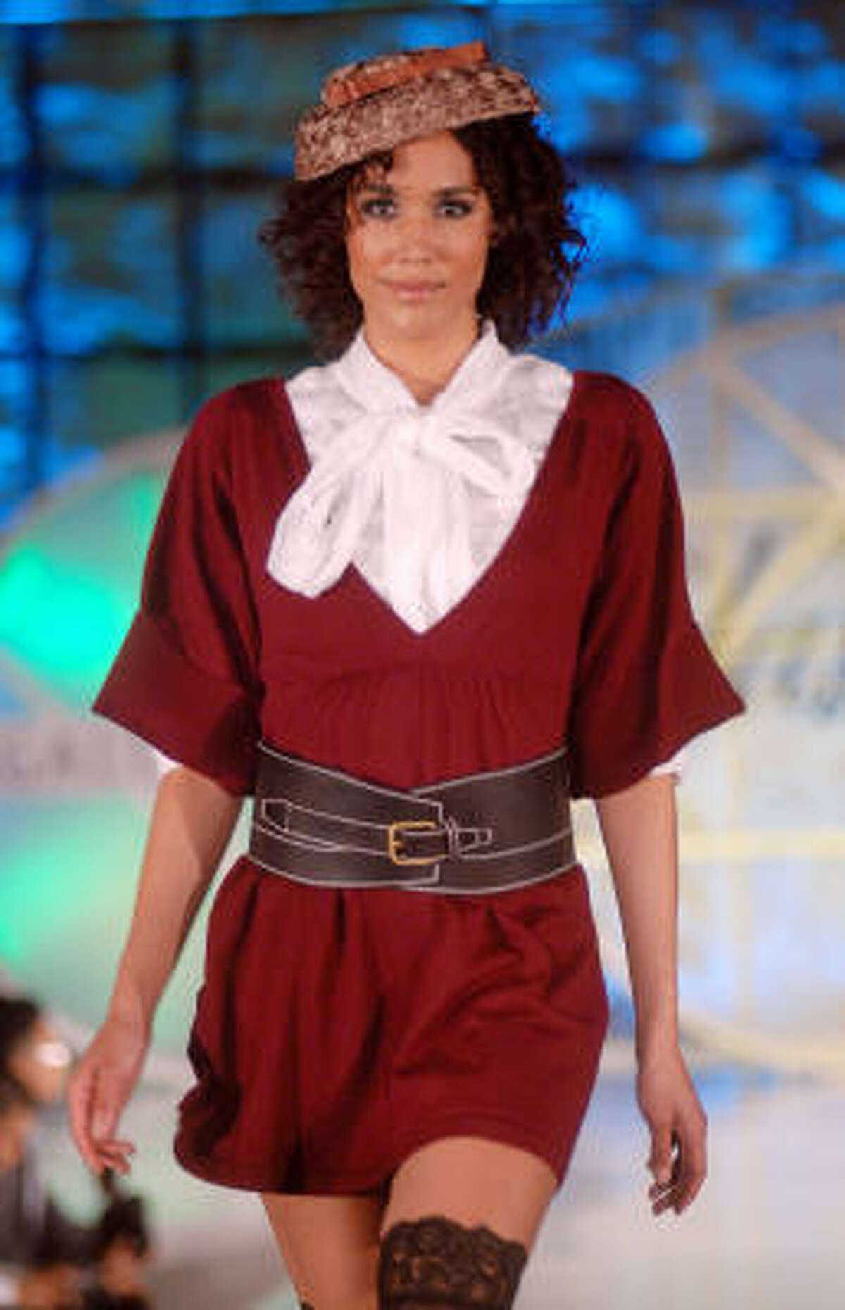 Fall is here and so are this season's trends. A model wears Billy Reid at the Simon Fashion Now fashion show at The Galleria Thursday, Sept. 17,2009. Read more about fall fashion here.