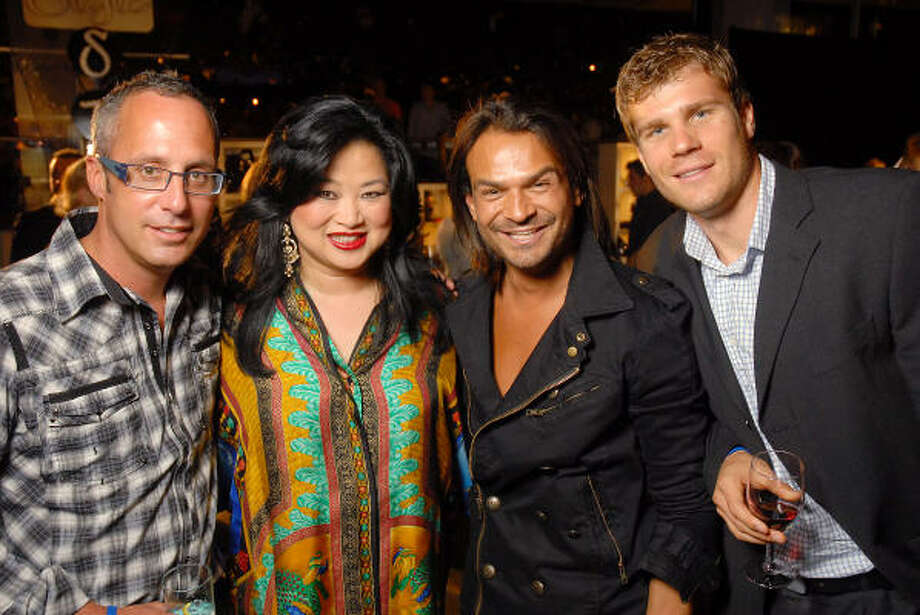 Mark Sullivan, Gigi Huang, Todd Ramos and Ondrej Zouhar Photo: Dave Rossman, For The Chronicle