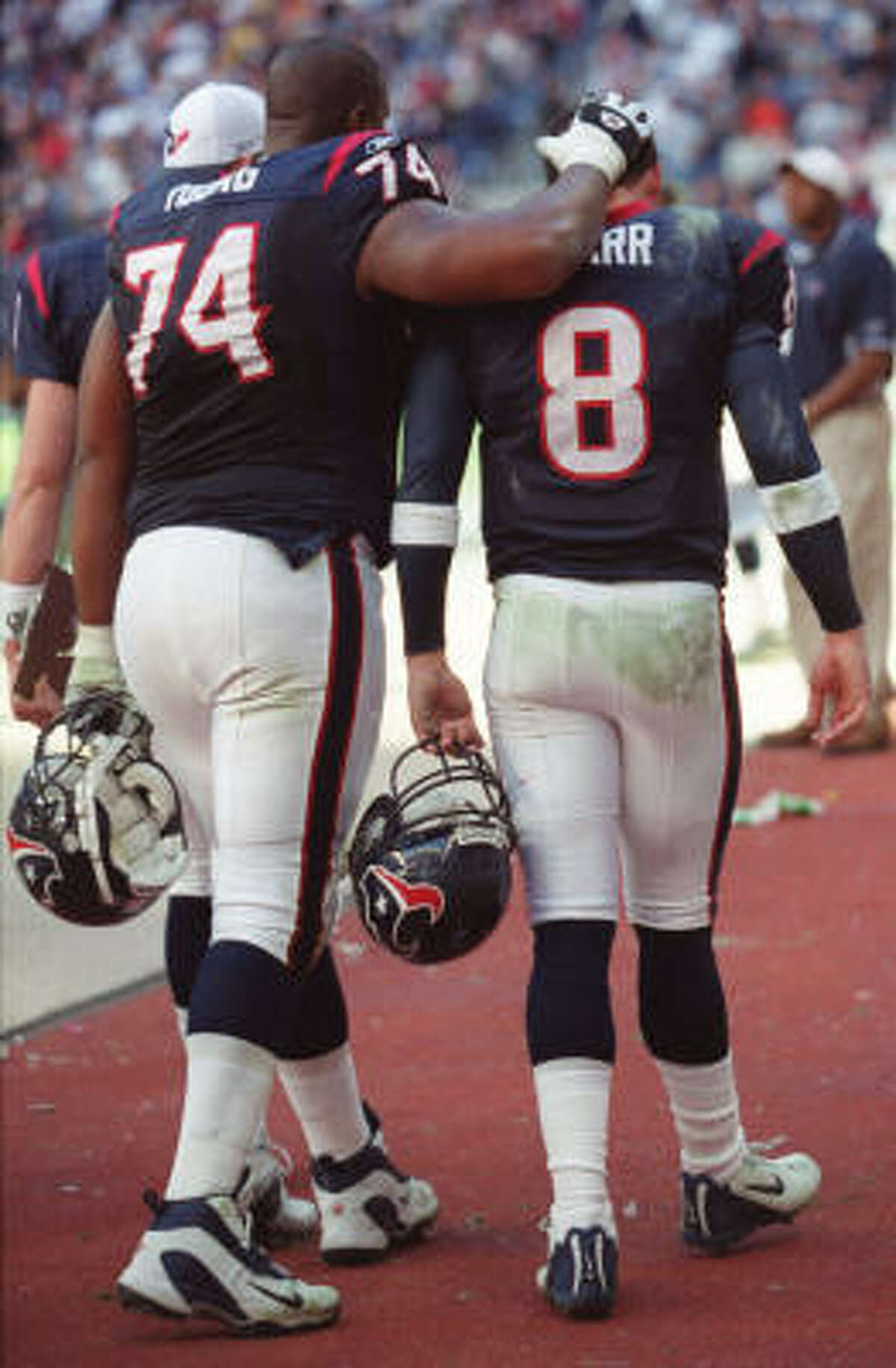Nov. 17, 2002: Jaguars 24, Texans 21 The Texans fell behind 17-7 and could never catch up to drop their third straight.