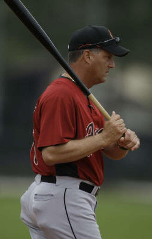 Al PedriqueElevated to Astros third-base coach from field coordinator. Photo: Karen Warren, Chronicle