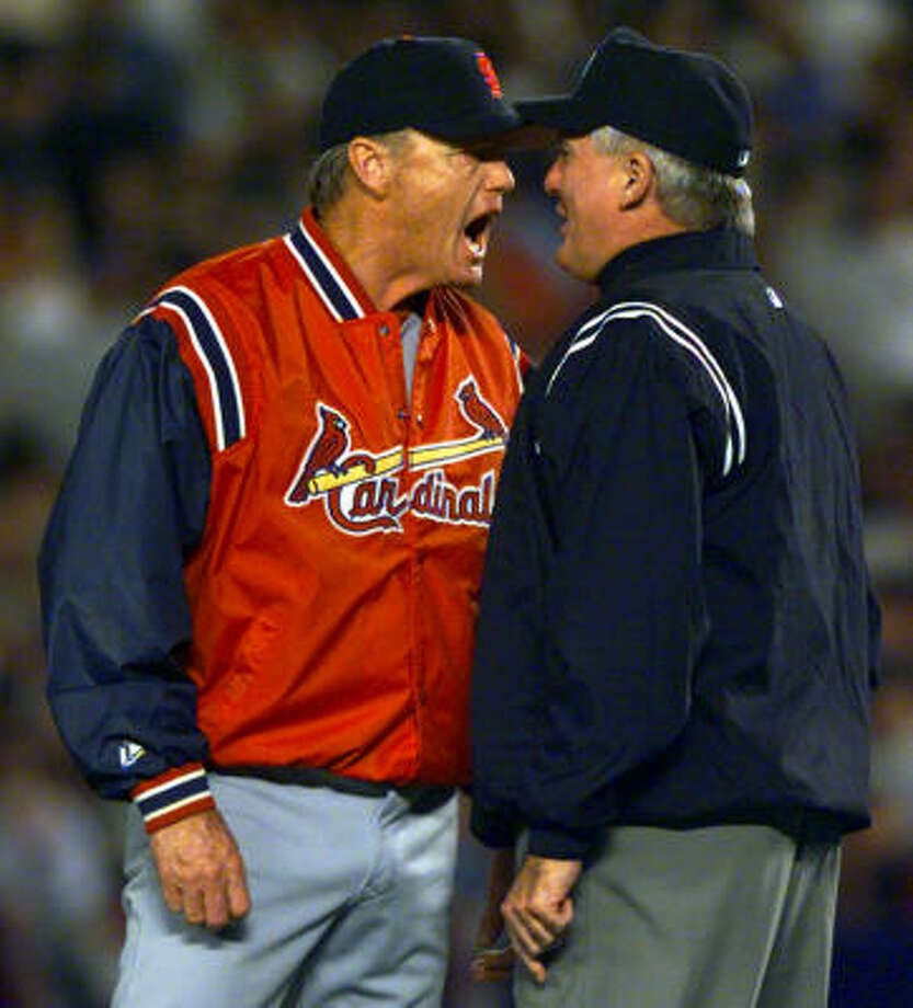 Dave DuncanCurrently the pitching coach for the St. Louis Cardinals. Photo: CHARLES KRUPA, AP