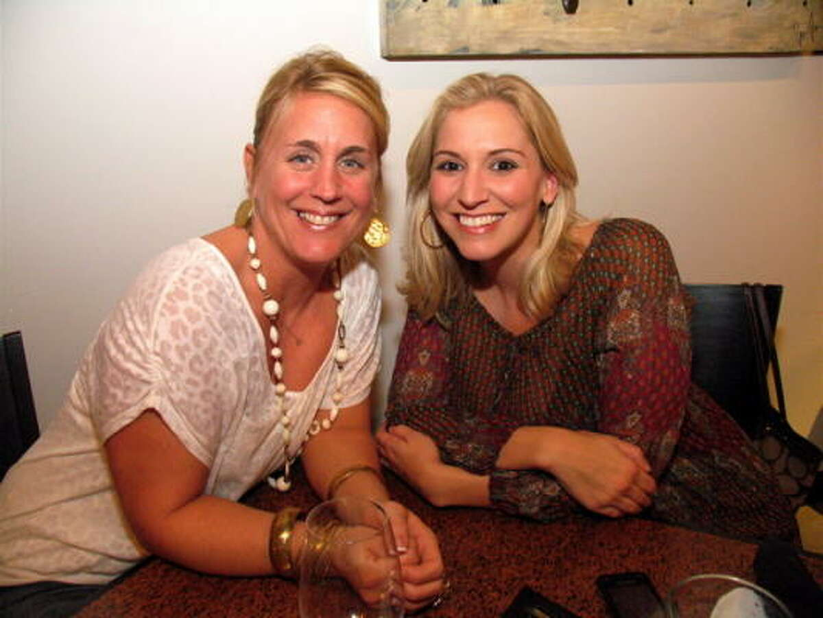 Wine lovers gathered at Block 7 Wine Company, 720 Shepherd Dr., to check out one of the hottest new bars in town. Pictured are Nicky LeBouef, left, and Leigh Rozelle. See who else made it out.