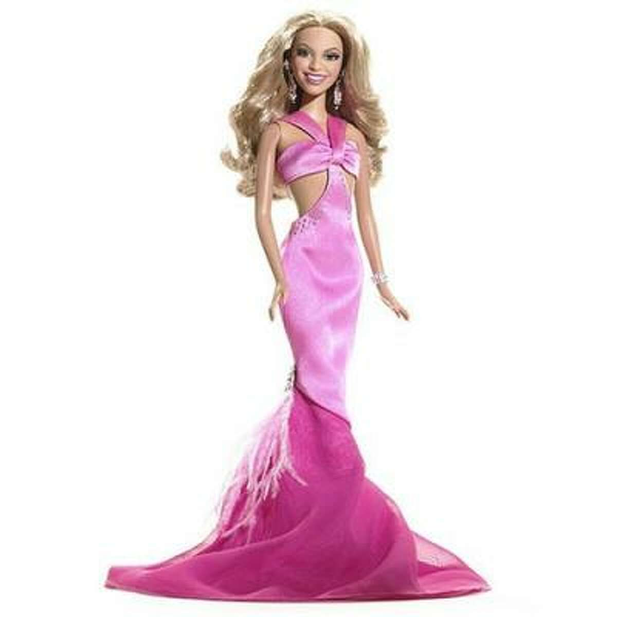 Beyonce from her Destiny's-Child-days Barbie. Who knew one day she'd have the best video of the decade, according to Kanye West.