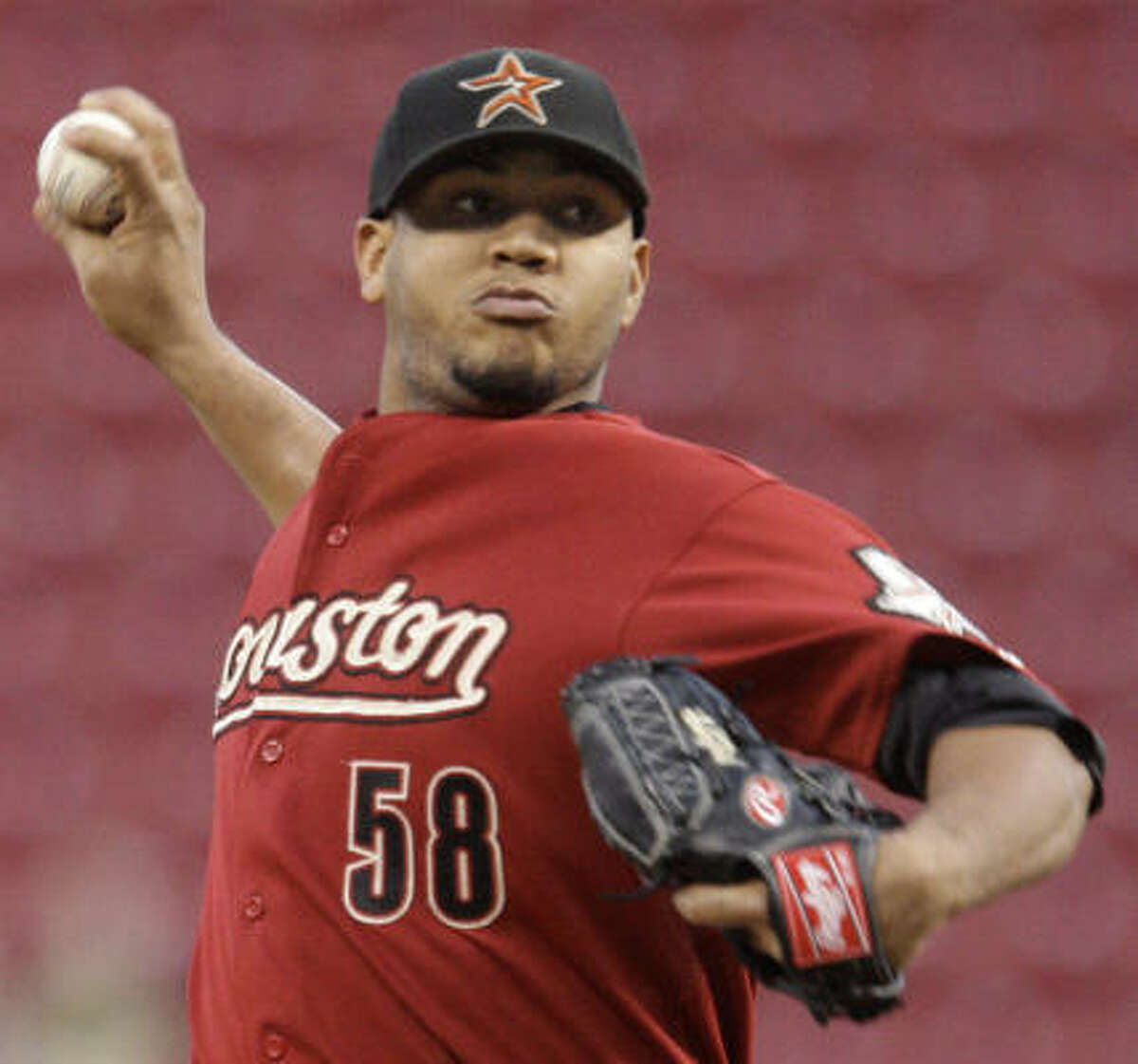Sept. 16: Reds 6, Astros 5 Astros starting pitcher Yorman Bazardo gave up four runs and allowed seven hits in five innings of work.