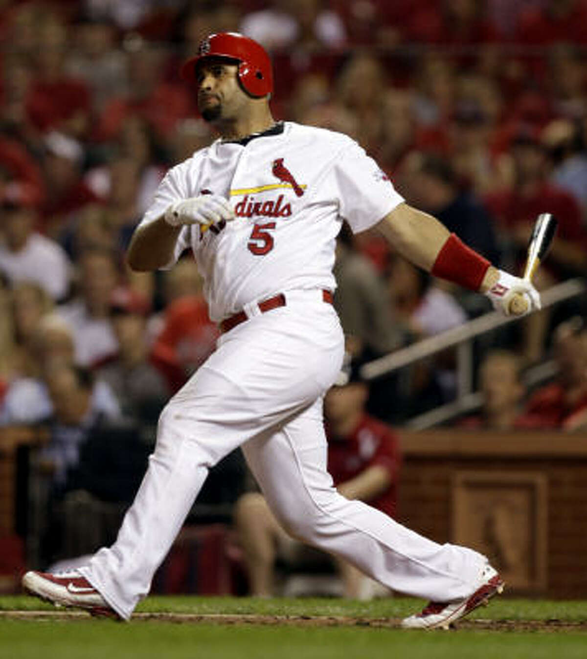 April 12: First road game Houston travels to St. Louis as the opponent in the Cardinals' home opener.