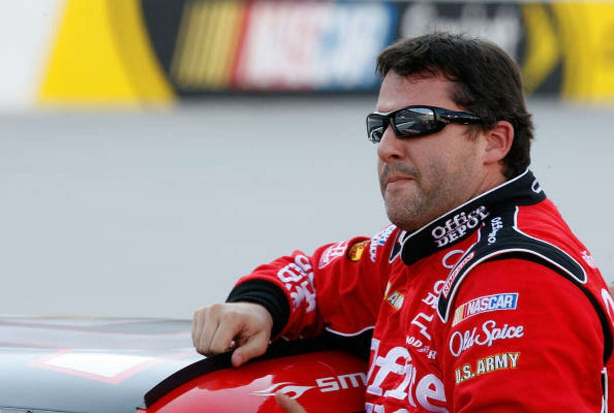 2. Tony Stewart Driving the Old Spice Chevrolet, Stewart comes in with 13 top 5 finishes including four wins in 26 starts.