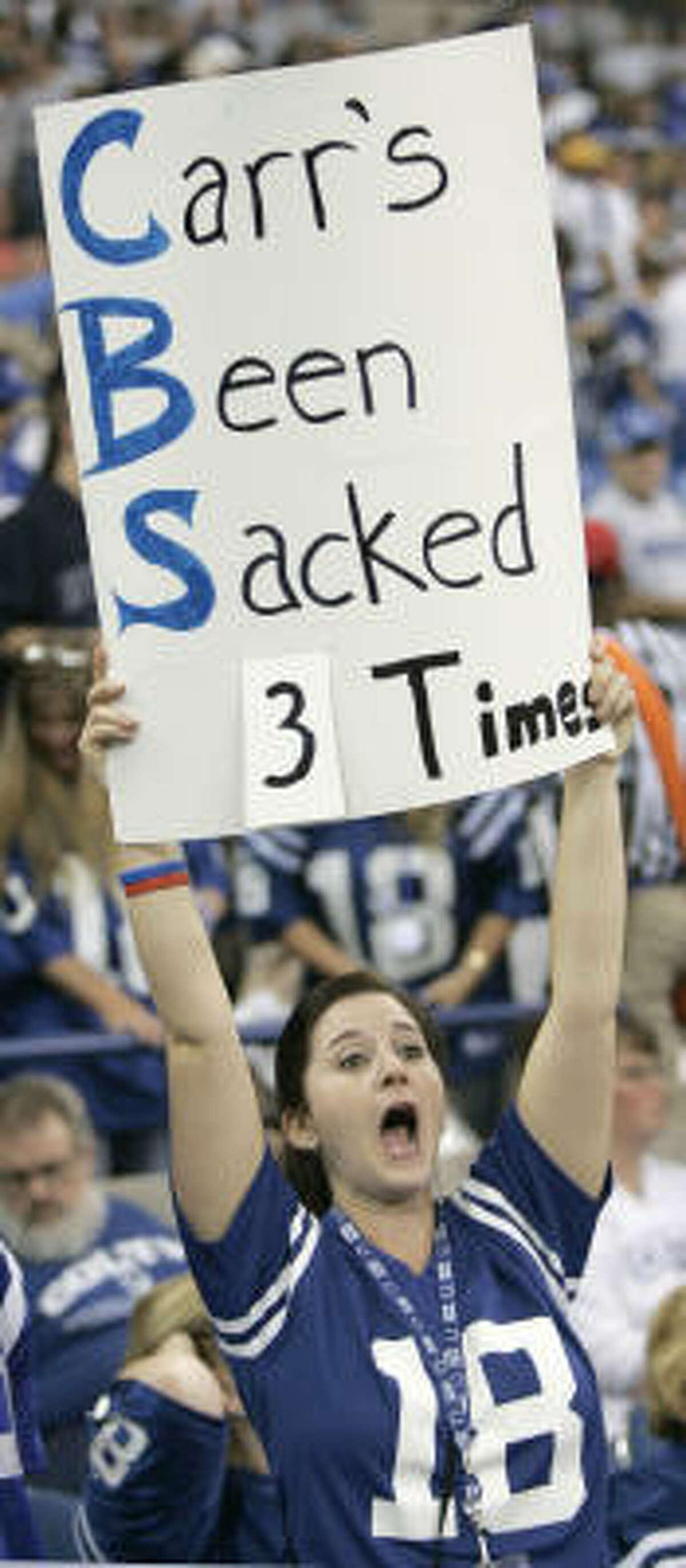 Sept. 17, 2006: Colts 43, Texans 24