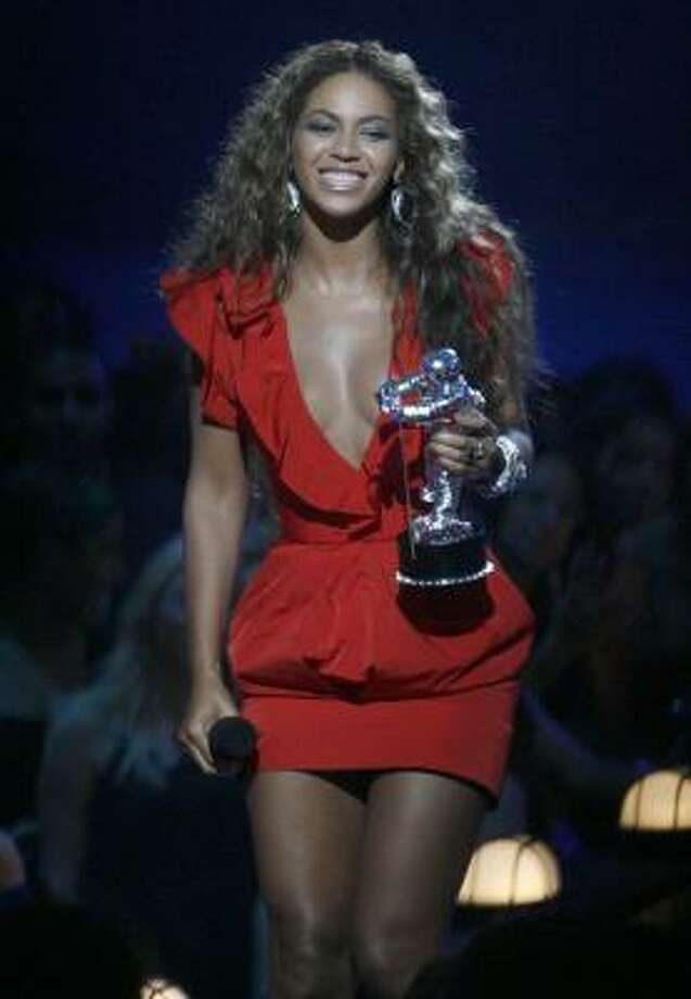 Beyonce won the award for Video of the Year at the 2009 MTV Video Music Awards. Find out who else took home a moon man here. Photo: Jason DeCrow, AP