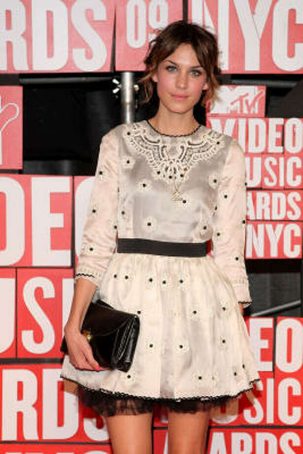 Model and TV host  Alexa Chung has a knack for style. Photo: Michael Loccisano, Getty Images