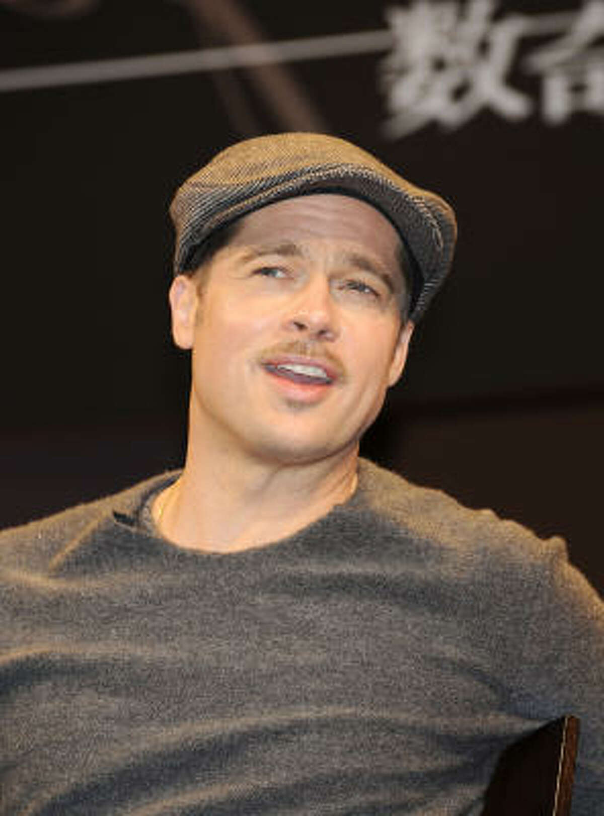 Brad Pitt was chosen as the best choice to teach theater classes.
